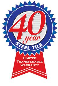 40 year metal roof warranty