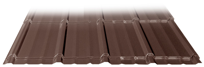 Slate Shake metal roof profile